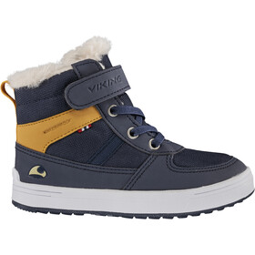 Viking Footwear Lukas WP Scarpe Bambino, navy/honey